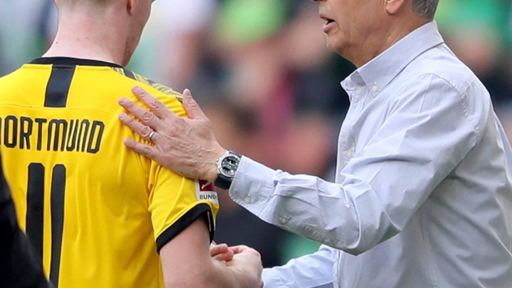 Lucien Favre wird seine Arbeit in Dortmund weiterführen