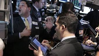 Hochbetrieb an der Wall Street (Archiv)