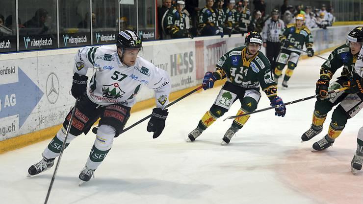 Auch das Eishockey der Swiss League bietet Spektakel