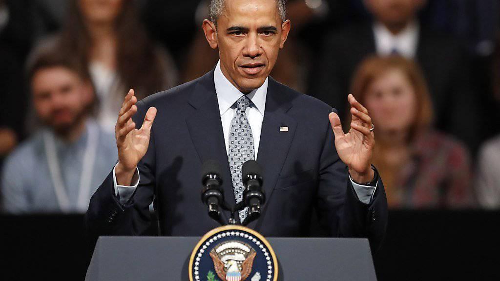 US-Präsident Obama beantwortet in London die Fragen junger Menschen.