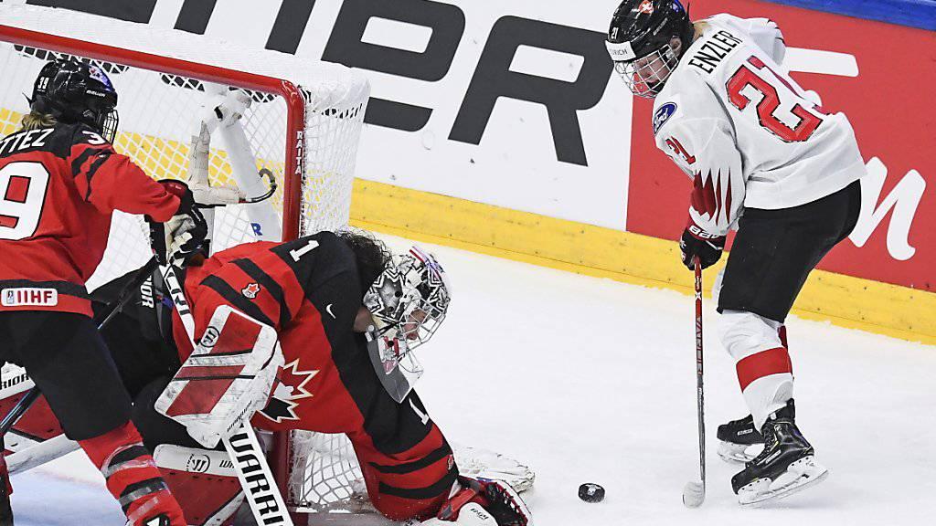 Schweiz unterliegt Kanada zum Auftakt klar