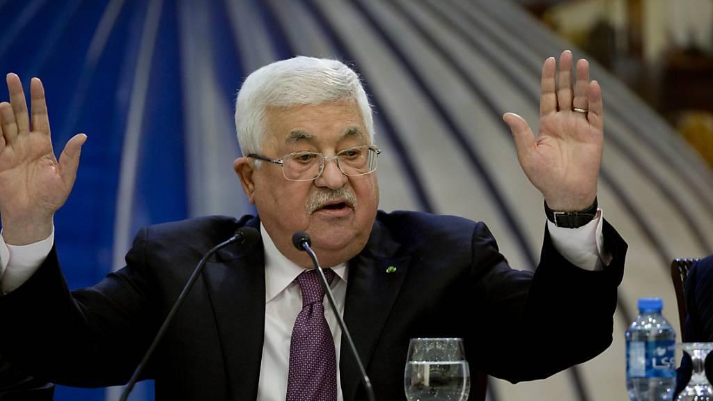 Palästinenser weisen Trumps Nahost-Plan scharf zurück