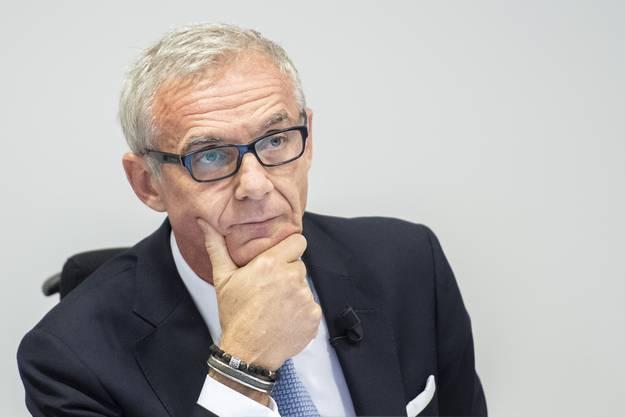 Verwaltungsratspräsident Urs Rohner.