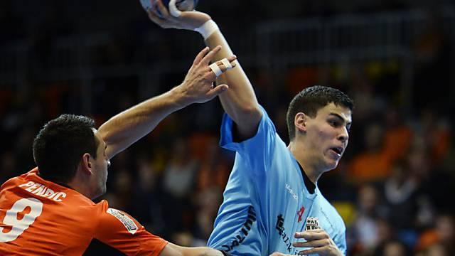 Luka Maros (19) war der erfolgreichste Torschütze bei Pfadi