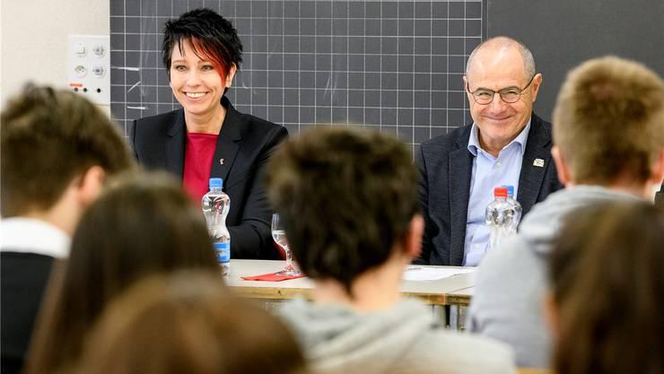 Sandra Sollberger und Claude janiak plauderten aus dem Nähkästchen. Kenneth Nars