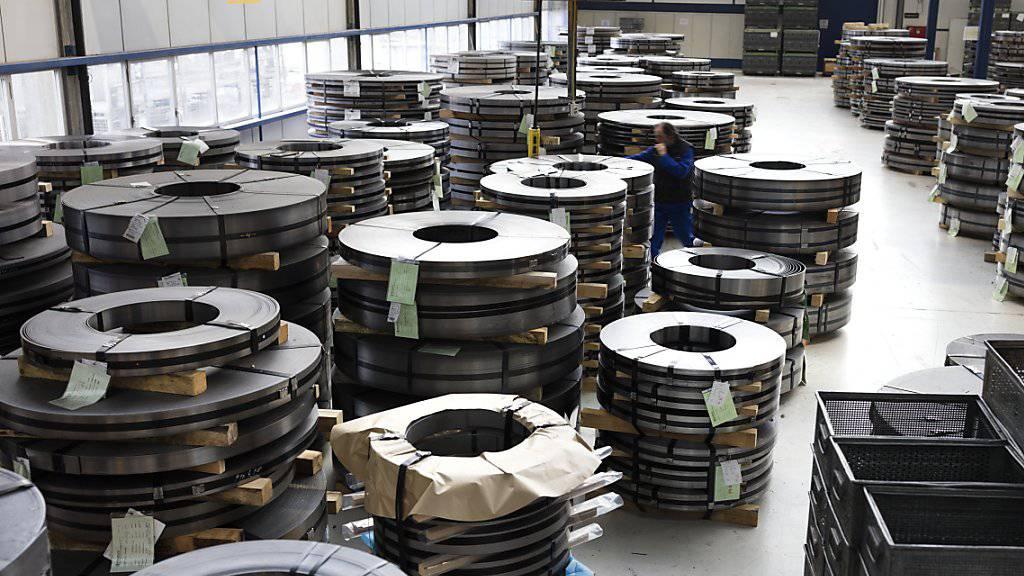 Die Schweizer Aluminiumindustrie hat im letzten Jahr «eine erfreuliche Anzahl an Neuaufträgen» an Land gezogen. (Themenbild)