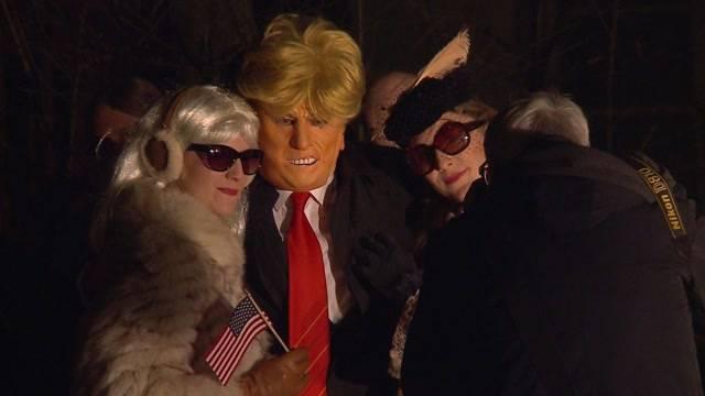 Donald Trump sorgt für Unterhaltung an Badener Fasnachtsauftakt