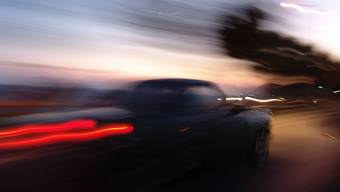 Bei einer Geschwindigkeitskontrolle auf der A2 wurde ein Fahrer gemessen, der mit 222 km/h Richtung Luzern unterwegs war. (Symbolbild)