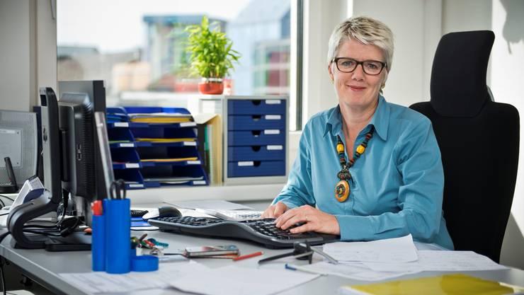 Susanne Niele von der Opferhilfe Aargau-Solothurn.