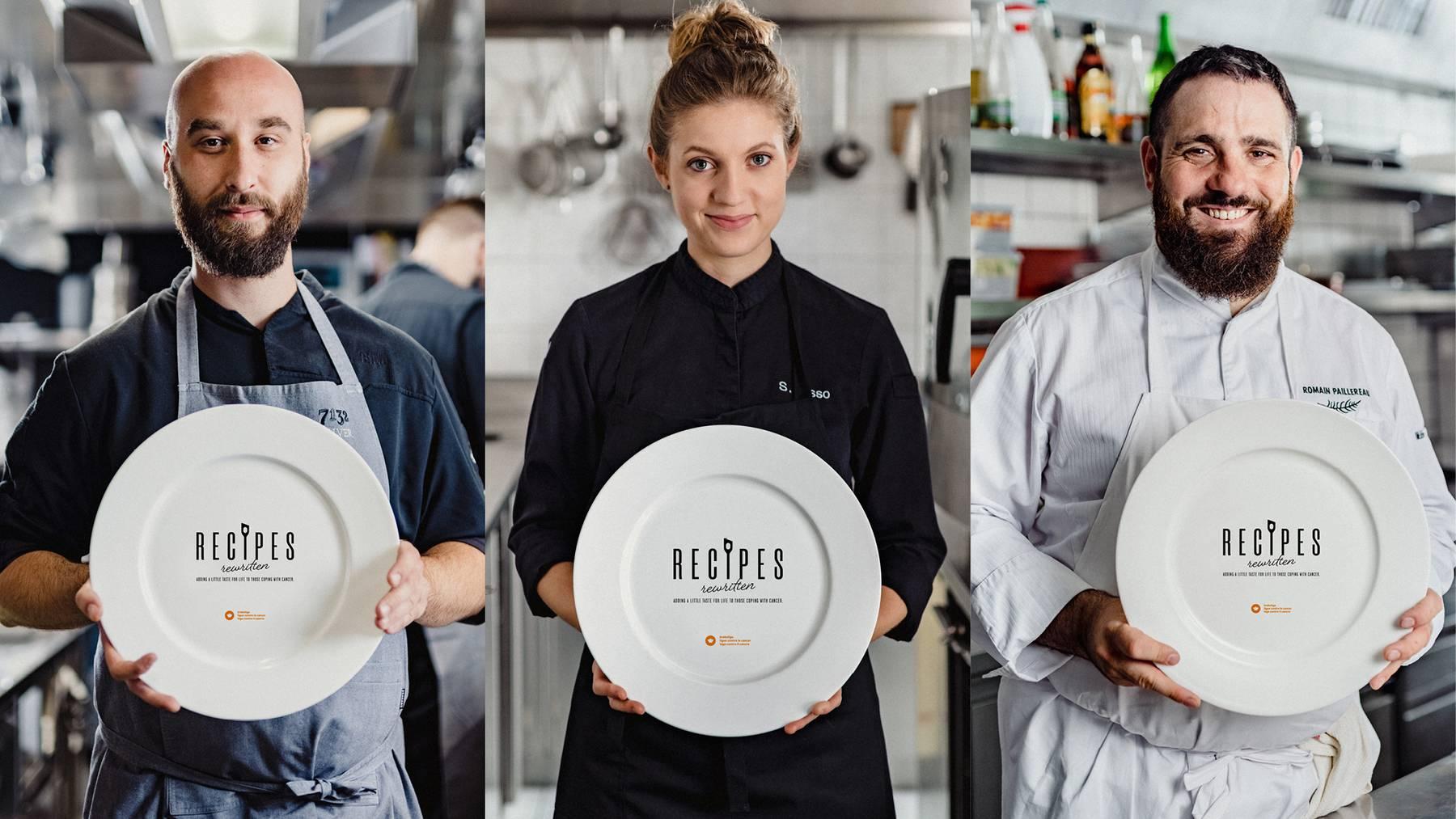 RECIPES rewritten mit Chefs I Foto Atem Collective