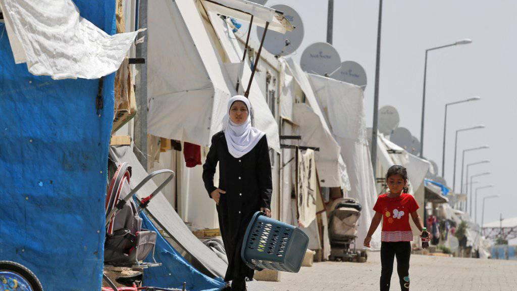 Flüchtlingslager im Südosten der Türkei: Hilfsorganisationen kritisieren die EU-Migrationspolitik. (Symbolbild)