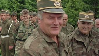 Kriegsverbrecher Ratko Mladic in Haft