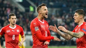 Haris Seferovic vor dem Nations-League-Spiel gegen Portugal