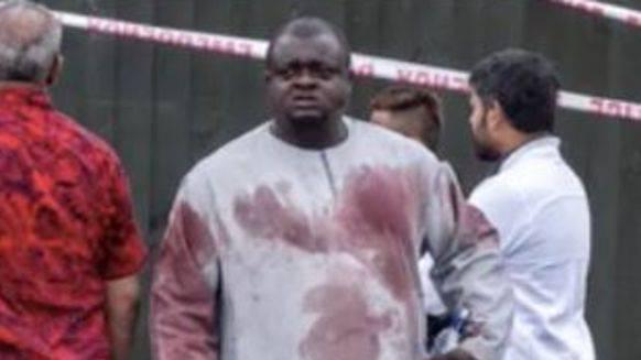 Alabi Lateef schlug das Fenster vom Auto des Attentäters ein - die Polizei wurde dadurch auf den Wagen aufmerksam.