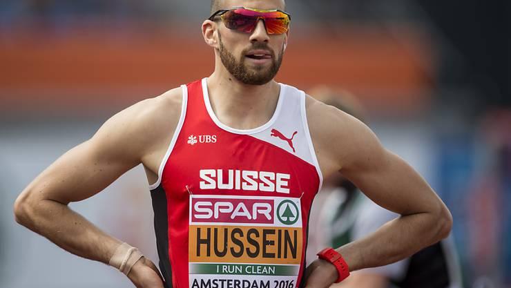 Kariem Hussein gewann wie vor zwei Jahren in Zürich eine EM-Medaille