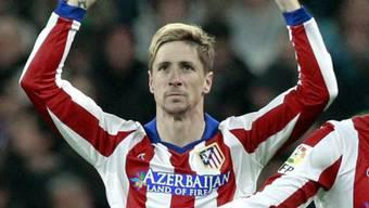 Fernando Torres schoss Atletico in die nächste Cup-Runde