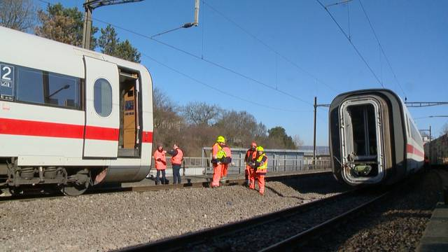 Weichenproblem? Entgleister Zug versperrt Strecke nach Basel