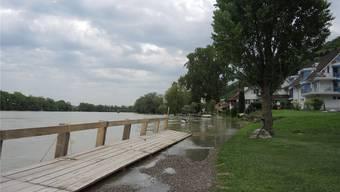 Hochwasser Fricktal