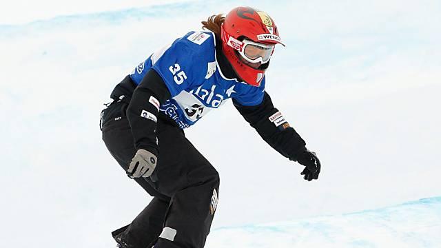 Emilie Aubry stürzte in Arosa