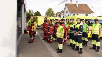 Klosterübung Feuerwehr Engstringen