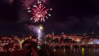 1.-August-Feuerwerk Basel 2019