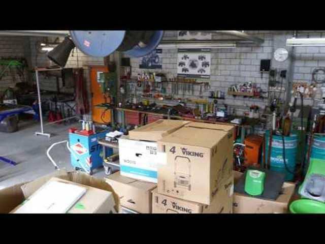 Liquidation Damann AG, Magden: ein Blick in die Werkstatt