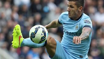 Man Citys Stevan Jovetic zeigte sich gegen Liverpool in Hochform.