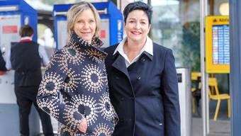 Nur eine wird den Zug ins «Stöckli» erwischen: Maya Graf (Grüne, Sissach, li.) und Daniela Schneeberger (FDP, Thürnen) treffen sich zum bz-Streitgespräch in Liestal.