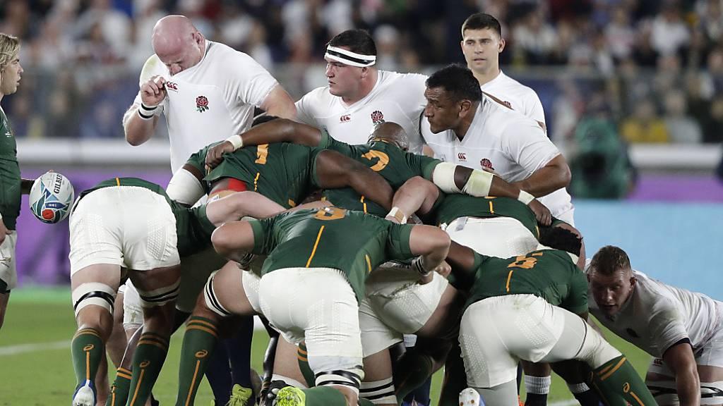 Die Südafrikaner traten beim Gedränge zumeist sehr dominant auf
