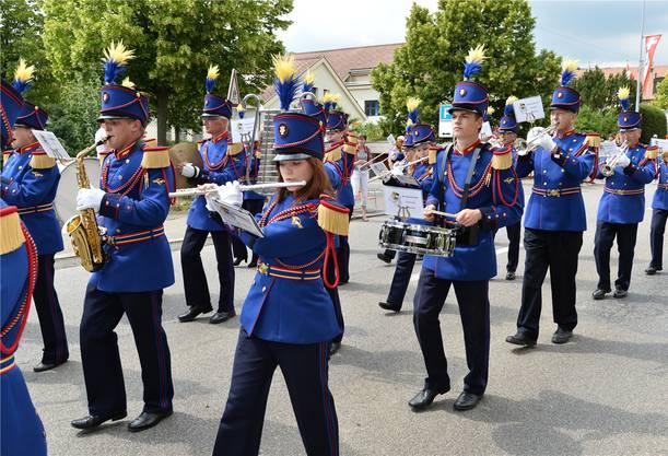 Die Brass Band Matzendorf belegte den ersten Platz