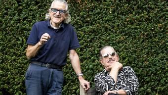 Dieter Meier und Boris Blank in Zuerich.