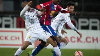 Die Winterthurer Jordi Lopez und Tiziano Lanza (in Weiss) hier in einem Match gegen Chiasso