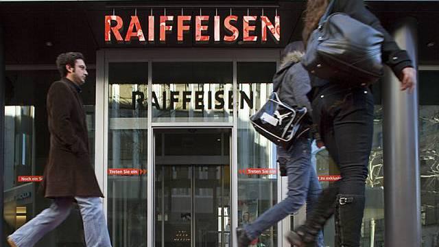 Rekordwachstum bei den Hypotheken: Raiffeisen-Gruppe (Archiv)