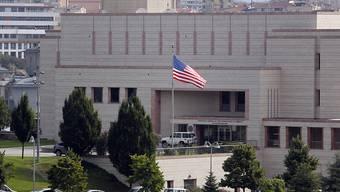 Das US-Konsulat in Istanbul: Die Familien der Beamten sollen aus der türkischen Stadt abreisen, wie das US-Aussenministerium anordnete.