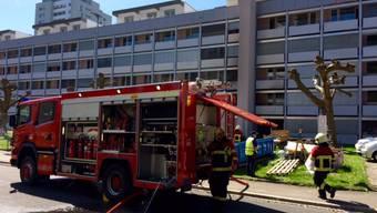 Wohnungsbrand in Aarau