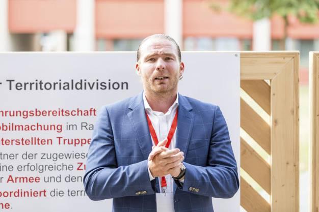 Einweihung der sanierten Kaserne Aarau