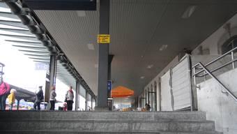 Baustelle am Solothurner Hauptbahnhof