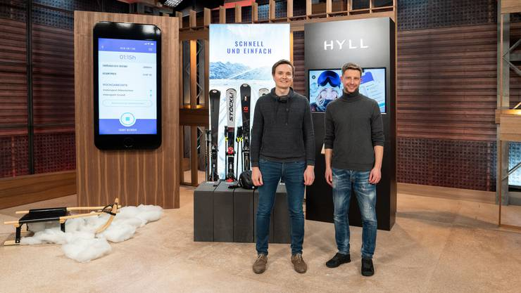 Michael Koch (28) und Daniel Lawniczak (38) sind zwei der drei Gründer von Hyll.