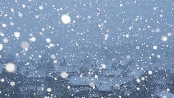 """Ein paar Schneeflocken machen noch keinen Winter: Laut MeteoSchweiz gab es an Silvester nur """"ein Schäumchen Schnee"""". (Archivbild)"""