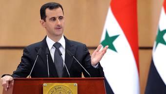 Noch ist unklar, ob sein Geld auch betroffen ist: Syriens Machthaber Baschar al-Assad (Archiv)