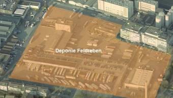 Die Deponie Feldreben wird für 165 Millionen Franken saniert.