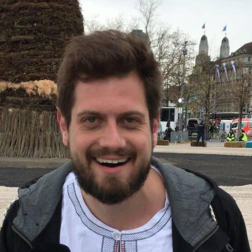 Dominik Widmer ist als Sächsilüüte-Reporter unterwegs