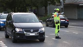 Oft beachteten Automobilisten Handzeichen der Verkehrsregler nicht, sagt Marco Bischoff von der Rheinfelder Feuerwehr.