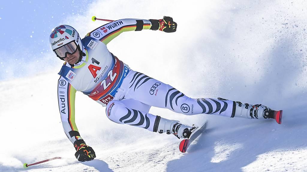 Verletzt: Stefan Luitz verpasst die nächsten fünf Weltcup-Riesenslaloms