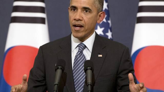 US-Präsident Barack Obama in Seoul