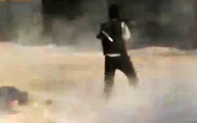 Die Bilder eines Amateur-Videos zeigen die Kämpfe in der Stadt Damaskus