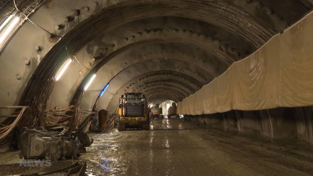 """Tunneldurchschlag Hirschenpark: Projekt """"Zukunft Bahnhof Bern"""" erreicht Meilenstein"""