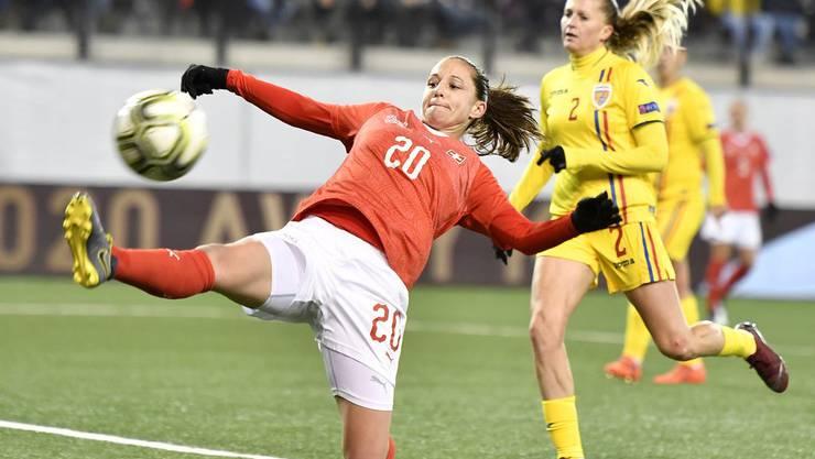 Auch Fabienne Humm vom FC Zürich durfte sich einen Treffer notieren lassen.