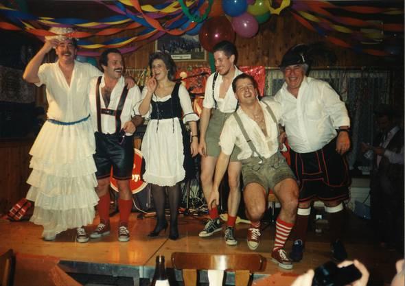 1995: Auftritt am Hilari im Restaurant Bahnhof