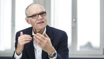 Daniel Aebli war von 2014 bis März 2018 Geschäftsführer des Industrieunternehmens Stahl Gerlafingen AG. (Archiv)